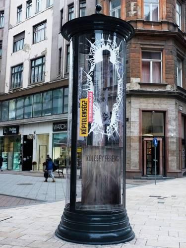 Rejtélyes hirdetőoszlopok Budapesten: közünk van hozzá!:)